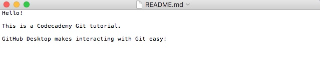 Updated README On Local Computer