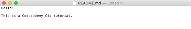 Git README File